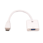 V7 CBLHDAV-1E tussenstuk voor kabels 1x 19-pin HDMI 1x 15-pin VGA Wit