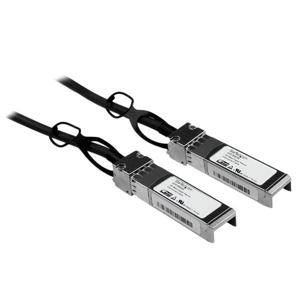 StarTech.com Cable de 3m SFP+ Direct Attach Twinax Pasivo Ethernet de 10 Gigabits Compatible con Cisco SFP-H10GB-CU3M - 10 GbE - Compatible con Cisco SFP-H10GB-CU3M