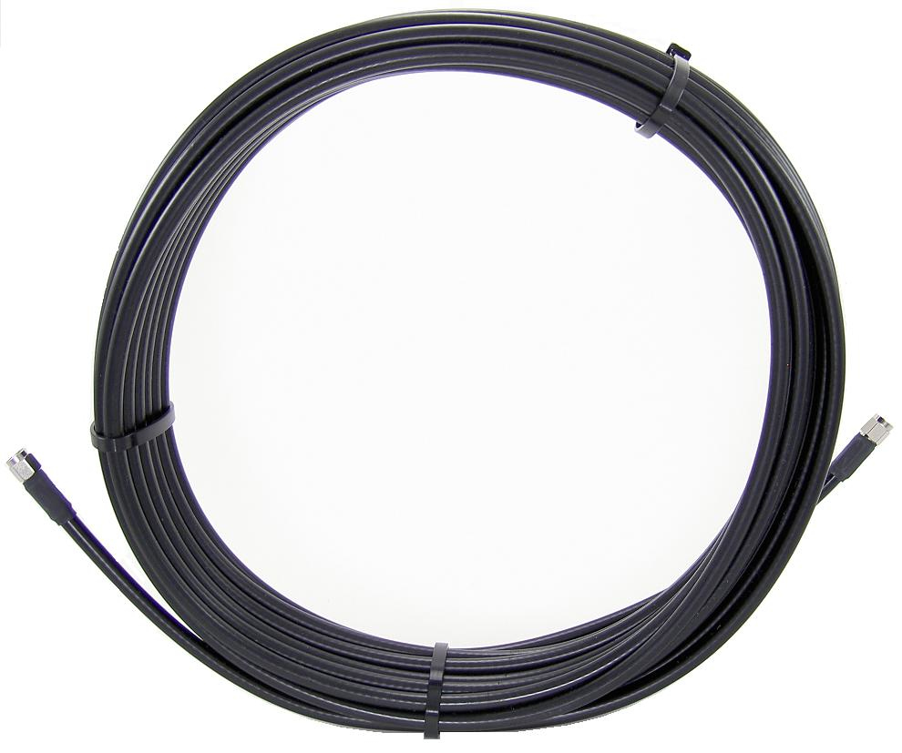 20-ft (6M) Ultra Low Loss LMR 400 Cable  with TNC Connector
