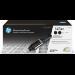 HP Kit de dos paquetes de recarga de tóner Original Neverstop 143AD negro