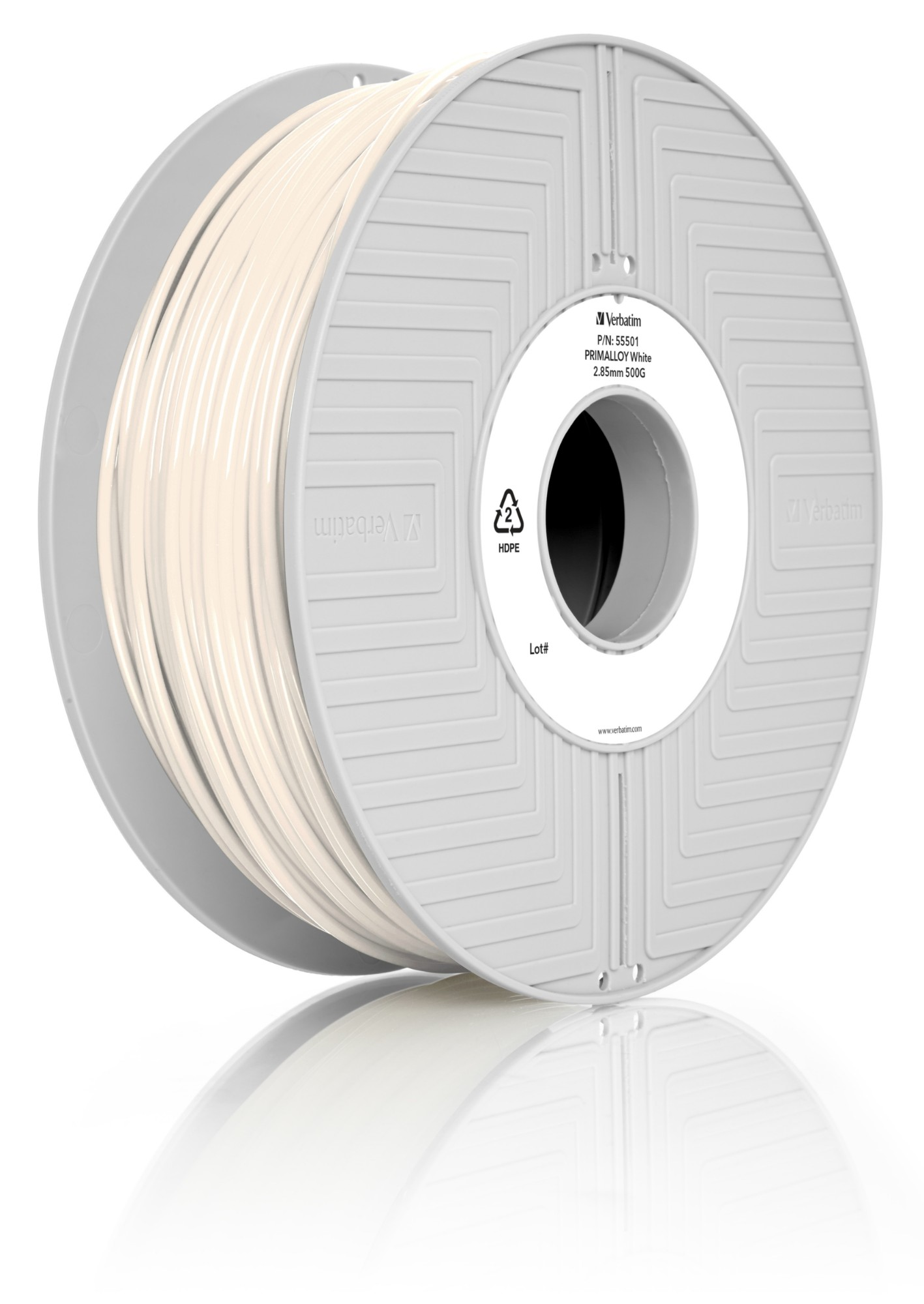 Primalloy Filament 2.85mm 0.5kg White