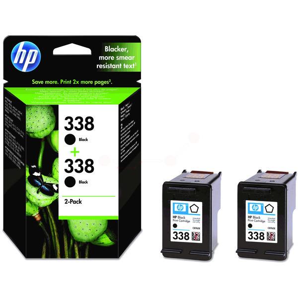 HP CB331EE (338) Printhead black, 450 pages, 11ml, Pack qty 2