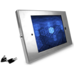 Maclocks Compulocks iPad Secure Metal Jacket Enclosure Wall Mount Silver - Mounting kit (anti-theft enclosure