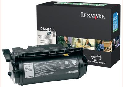 Lexmark T632, T634 Extra High Yield Return Program Print Cartridge (32K) Original Negro