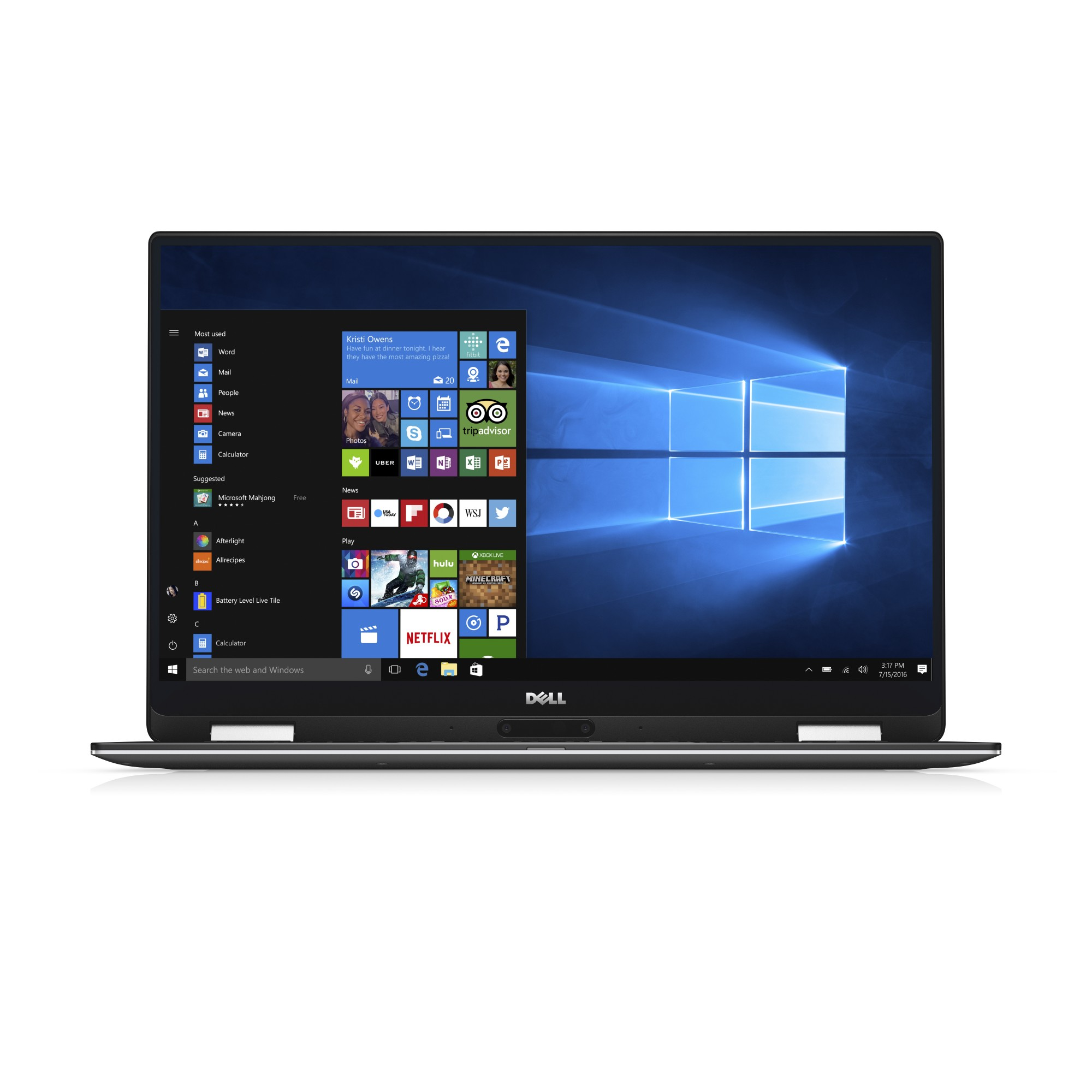 "DELL XPS 9365 1.30GHz i7-7Y75 13.3"" 3200 x 1800pixels Touchscreen Silver Hybrid (2-in-1)"