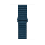 Apple MQV72ZM/A Band Blue Leather