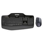 Logitech MK710 RF Wireless QWERTY Pan Nordic Black keyboard