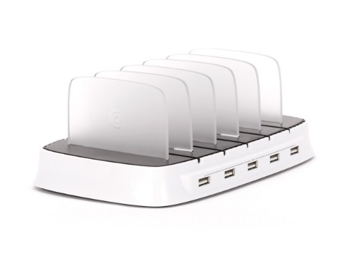 Griffin PowerDock 5 White mobile device dock station