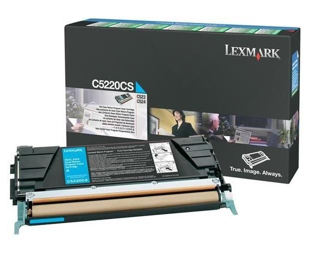 Lexmark C5220CS cartucho de tóner Original Cian 1 pieza(s)