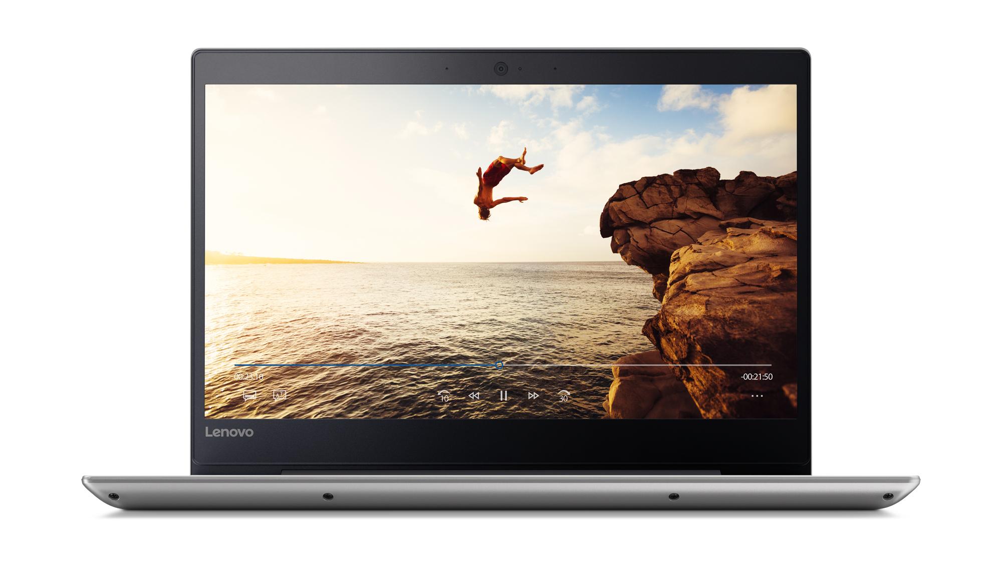 """Lenovo IdeaPad 320S Grey Notebook 35.6 cm (14"""") 1366 x 768 pixels 7th gen Intel® Core™ i3 i3-7100U 8 GB DDR4-SDRAM 128 GB SSD"""