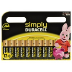 Duracell MN1500B12S non-rechargeable battery