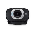 Logitech C615 webcam 8 MP 1920 x 1080 Pixels USB 2.0 Zwart