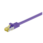 Microconnect 0.25m Cat7 S/FTP networking cable Purple S/FTP (S-STP)