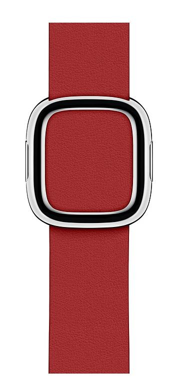 40mm Ruby (product)red Modern Buckle - Medium
