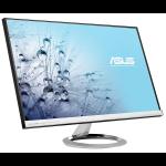 "ASUS MX279H 27"" Full HD LED Black, Silver computer monitor"