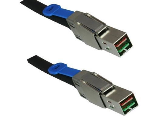 DINIC SAS-4444-5 Serial Attached SCSI (SAS) cable 5 m Black