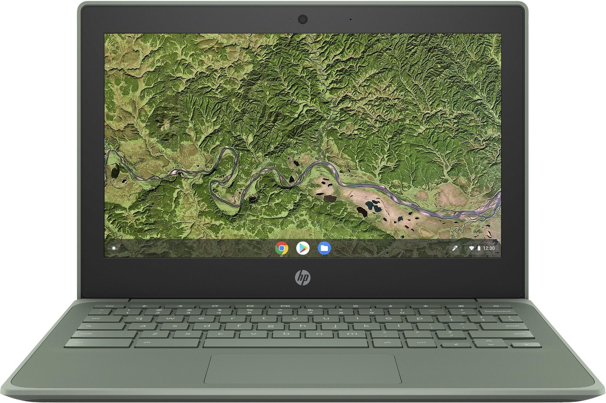 """HP Chromebook 11A G8 EE Groen 29,5 cm (11.6"""") 1366 x 768 Pixels Touchscreen 7th Generation AMD A4-Series APUs 4 GB DDR4-SDRAM 32 GB eMMC Wi-Fi 5 (802.11ac) Chrome OS"""