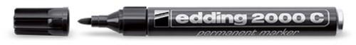 Edding 2000c Bullet tip Black 10pc(s) permanent marker