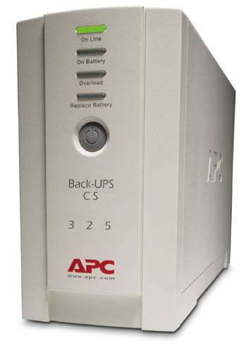 APC Back-UPS CS 325 w/o SW uninterruptible power supply (UPS) 325 VA 210 W