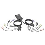 Tripp Lite B032-DUA2 Rack mounting Black KVM switch