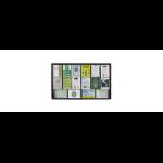 QUARTET PENRITE BULLETIN BOARD GLASS FABRIC 1500X900MM