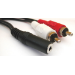 Sandberg Adapter MiniJack-F->2xRCA-M