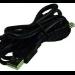 2-Power USB - Mini USB 1m Black USB cable