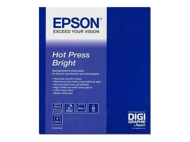 """Epson Hot Press Bright 44""""x 15m"""