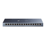 TP-LINK TL-SG116 network switch Unmanaged Gigabit Ethernet (10/100/1000) Black