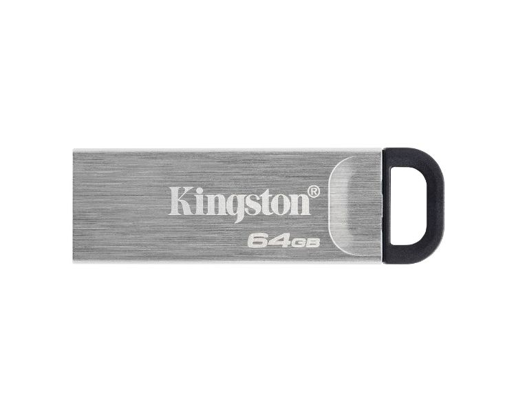 Kingston Technology DataTraveler Kyson unidad flash USB 64 GB USB tipo A 3.2 Gen 1 (3.1 Gen 1) Plata