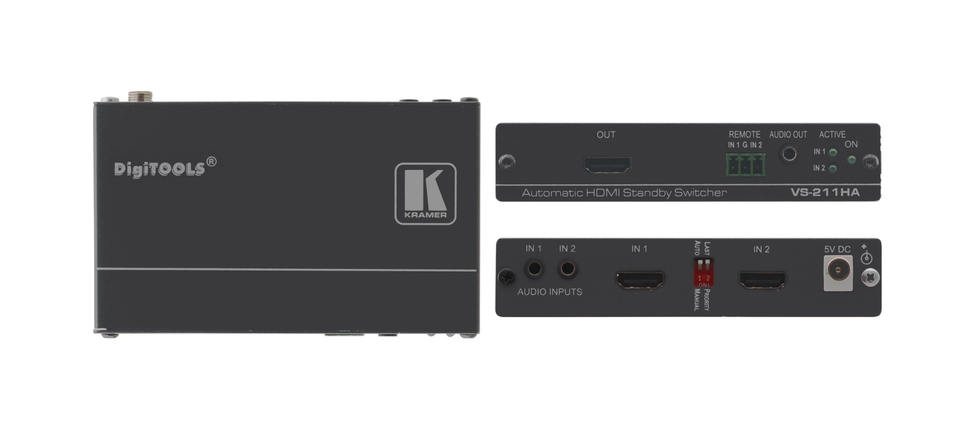 Kramer Electronics VS-211HA video switch HDMI