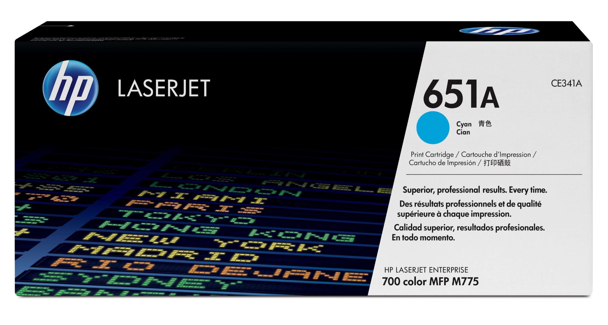 HP 651A Origineel Cyaan 1 stuk(s)
