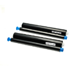 TSW Compatible Panasonic Thermal Ribbon KX-FA55X Black 240 Page Yield *7-10 day lead*