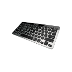 Logitech Easy Switch Bluetooth Black,Silver mobile device keyboard