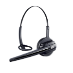 Epos D 10 HS Headset Ear-hook,Head-band Black