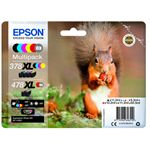 Epson C13T379D4010 (378XL/478XL) Ink cartridge multi pack, 11,2ml +3x9,3ml + 10,2ml + 11,2ml, Pack qty 6