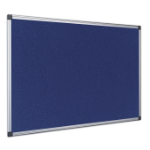 Bi-Office FA3843170 insert notice board Indoor Blue Aluminium