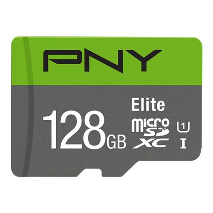 PNY Elite memory card 128 GB MicroSDXC Class 10 UHS-I