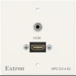 Extron WPC 210 A EU socket-outlet HDMI + 3.5mm White
