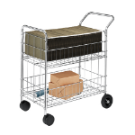 Fellowes 40912 janitor cart
