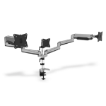 Digitus Universal Triple Monitor Table Mount with Gas Spring and clamp mount
