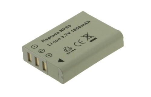 2-Power Digital Camera Battery 3.7V 1500mAh
