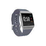 "Fitbit Ionic smartwatch Grey,Silver LCD 3.61 cm (1.42"") GPS (satellite)"