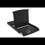 "Digitus DS-72001US 17"" 1920 x 1080pixels Metal Black 1U rack console"