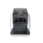 Brother QL-570 Direct thermal 300 x 300DPI Blue,Silver label printer