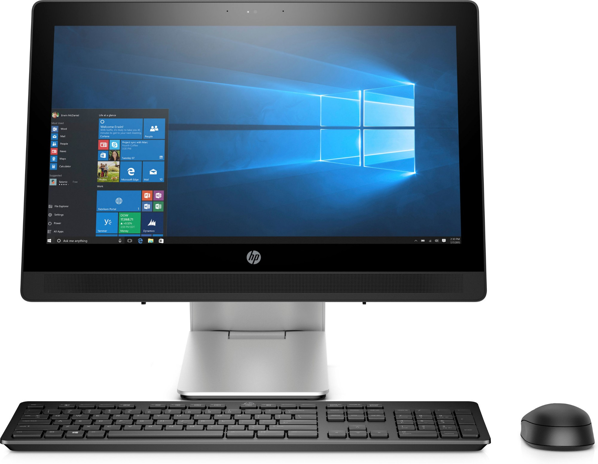 HP ProOne 400 G2 20-inch Touch All-in-One PC (ENERGY STAR)