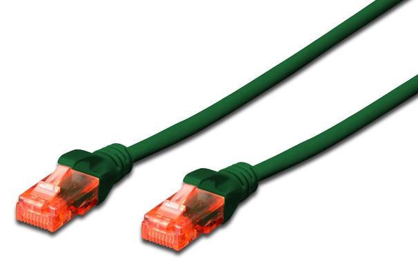 Digitus DK-1617-010/G networking cable 1 m Cat6 U/UTP (UTP) Green