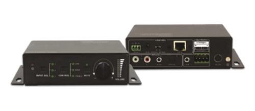 Vivolink VL120005 audio amplifier 2.0 channels Home Black