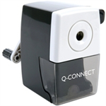 Q-CONNECT KF02291 Manual pencil sharpener Black pencil sharpener