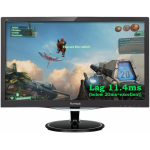 "Viewsonic VX Series VX2457-mhd 23.6"" Full HD LCD Matt Flat Black computer monitor"